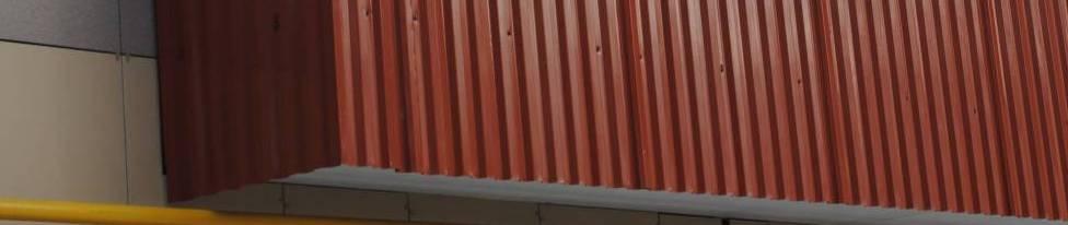 профнастилом балкон